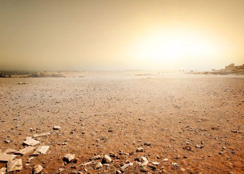 46606413 - sandy desert in egypt at the sunset